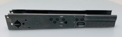 Yugo M72 (7.62x39) 1.5mm Thickness Hardened and Welded Receiver Blank with Under folding Rear Trunnion Holes