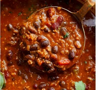 Bison Black Bean Chili