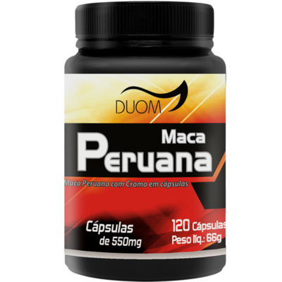 Maca Peruana 120 cáps Duom