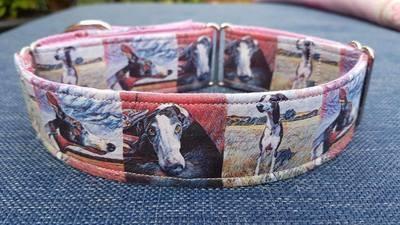Customised Printed Fabric collar
