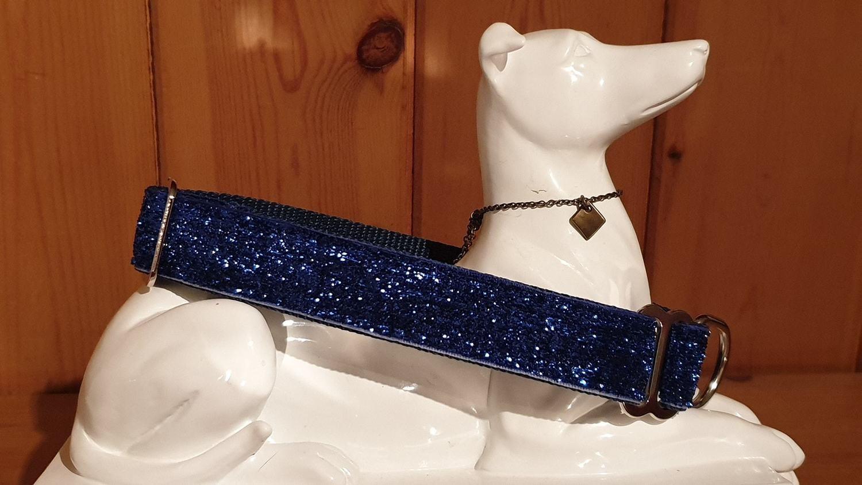 Sparkle Velvet Collar 25mm