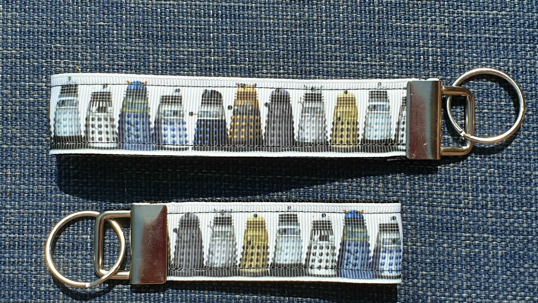 Key Fob or Bag Clip Doctor Who Dalek Design