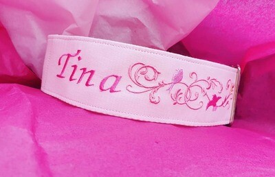 Personalised Embroidered Collar