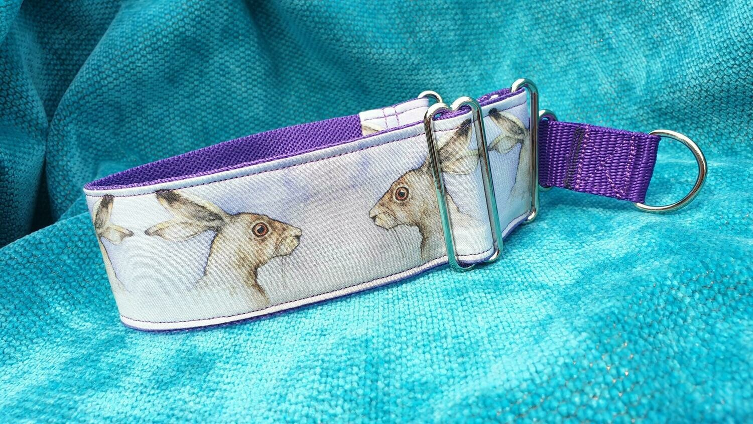 Collar 'Hares' by Erica Keating