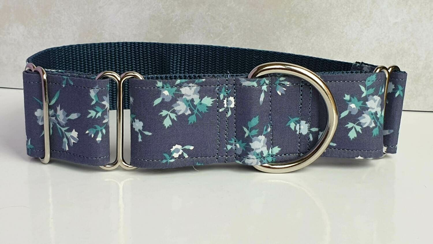 Vintage Laura Ashley Fabric Limited Edition Martingale Collar, House or Clip 'Mint'