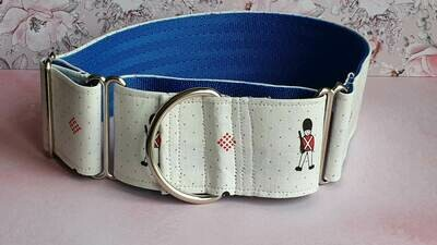Vintage Laura Ashley Fabric Limited Edition Martingale Collar, House or Clip. 'Jane'