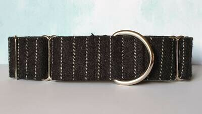 Vintage Laura Ashley Wool Fabric Limited Edition Martingale Collar, House or Clip.