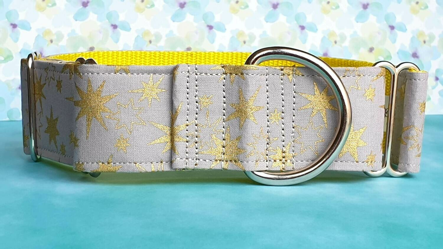Collar 'Gold Star' Martingale, House or Clip