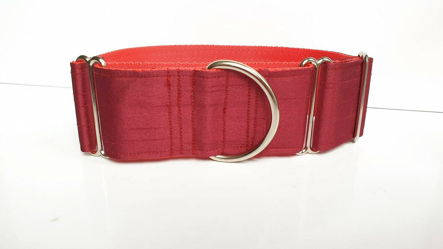 Collar 'Burgundy Shot' Martingale, House or Clip