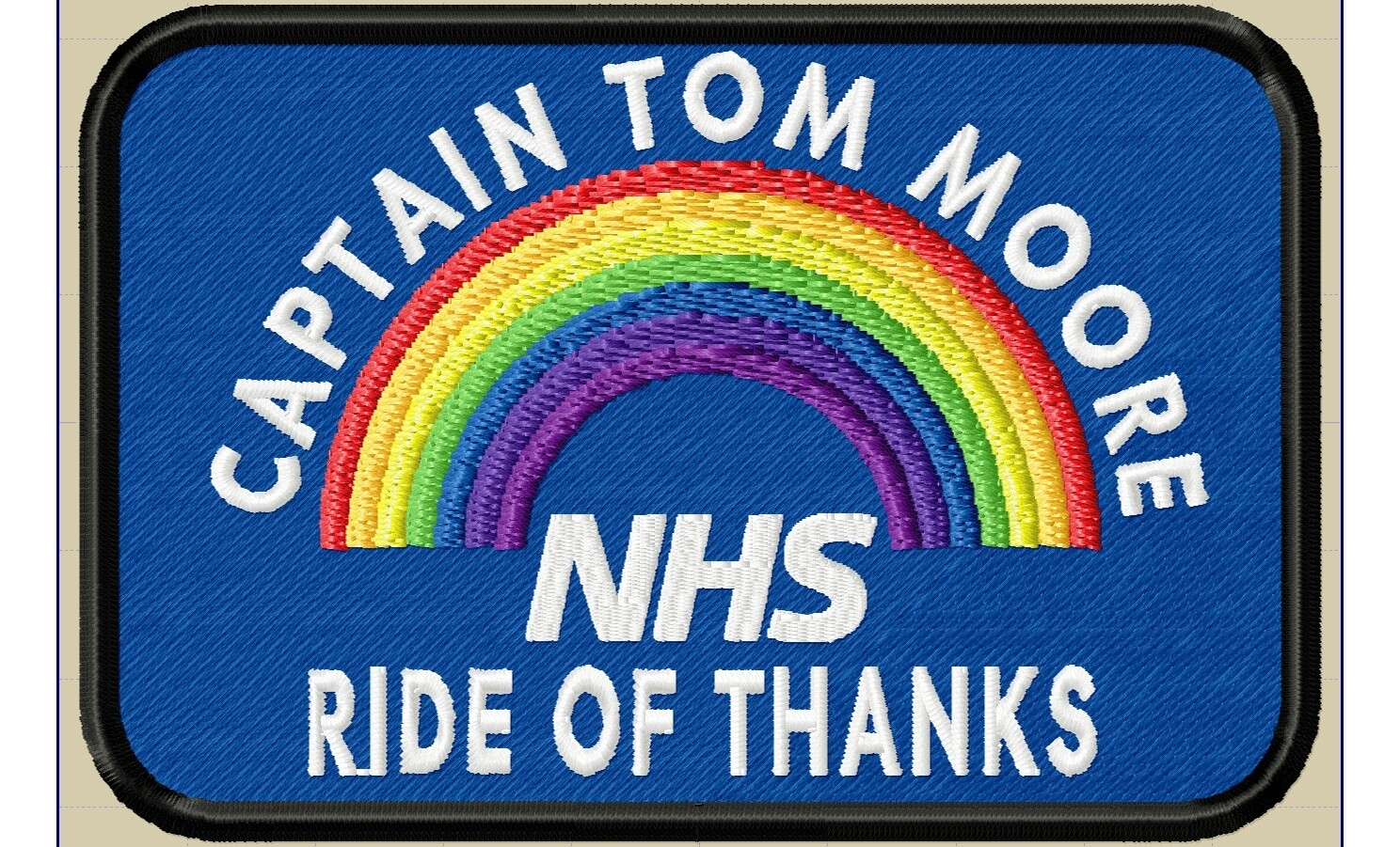 Captain Tom Moore Organiser's only patch pack