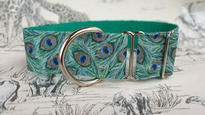 Collar 'Lucia's Peacock' Design