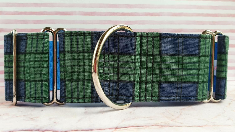 Collar 'Green Tartan' Design