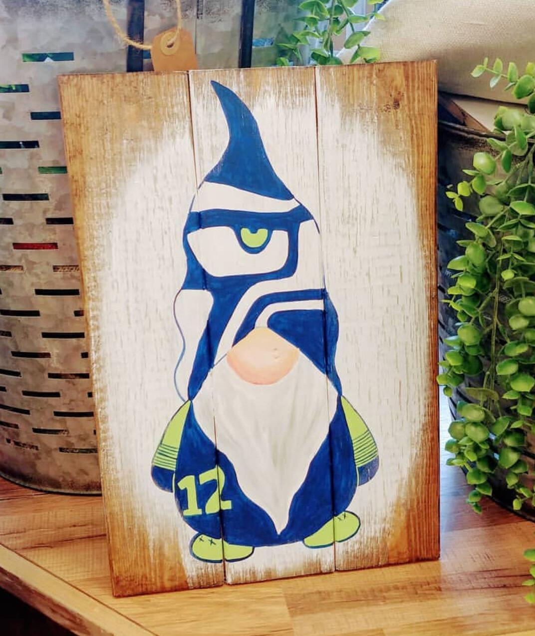 Seahawk Gnome