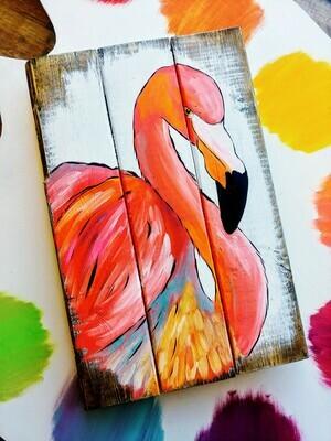 Summer Flamingo