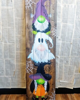 HALLOWEEN Porch Gnome (finished Painting OR kit options)