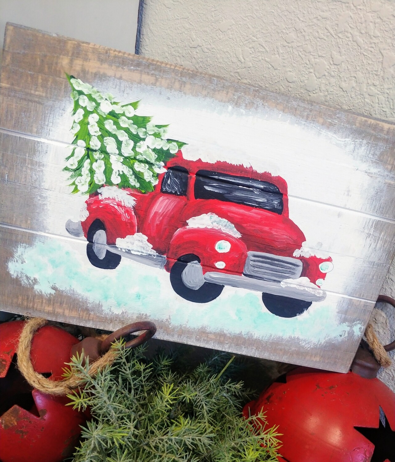 Vintage Holiday Truck