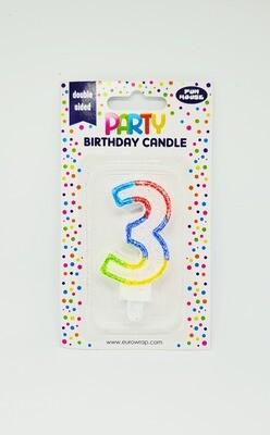 Candle '3'