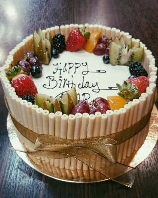 test fruit cake