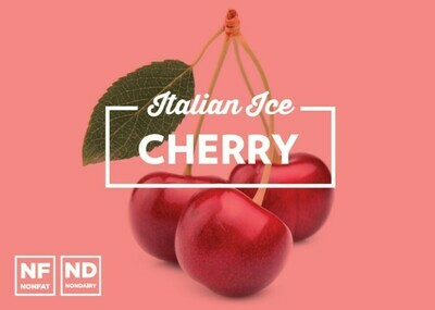 Cherry Italian Ice