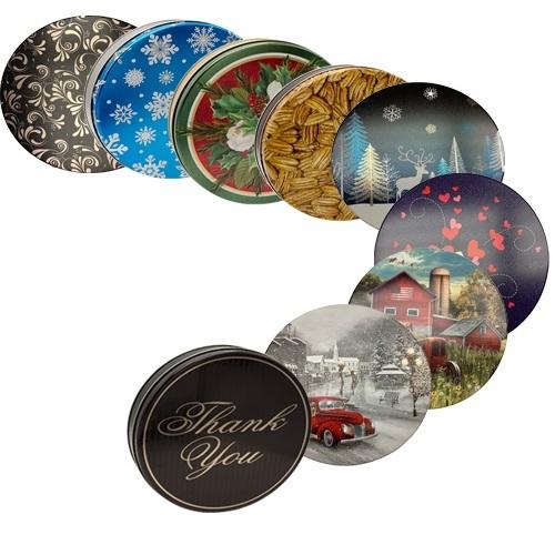 Our World Famous Chocolate Pecan Pie w/ Tin 00016