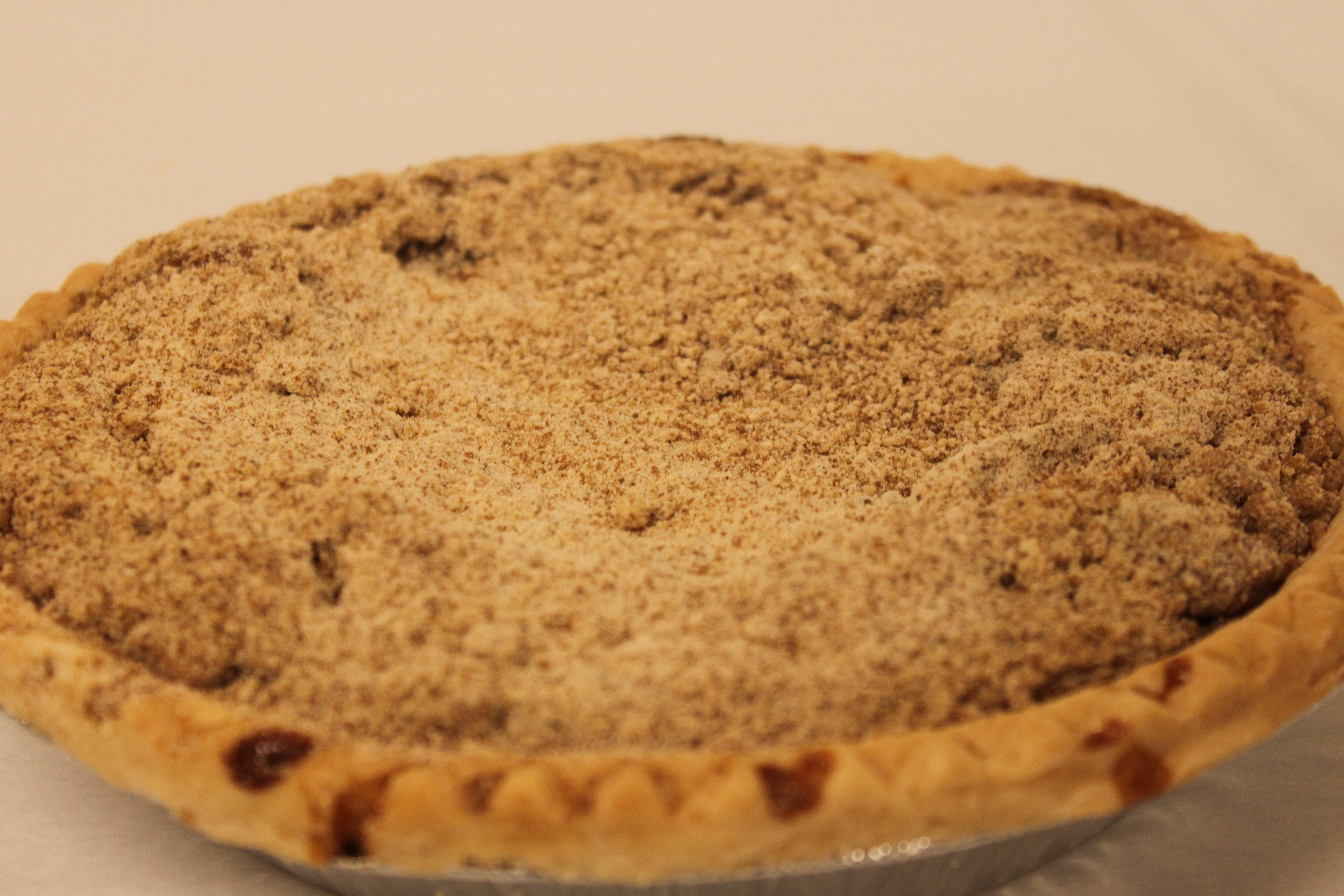 Anna Miller's Shoofly Pie (No Tin)