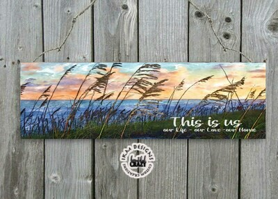"""11x4"""" Door/Wall hanger This is us Printable Sublimation File"""
