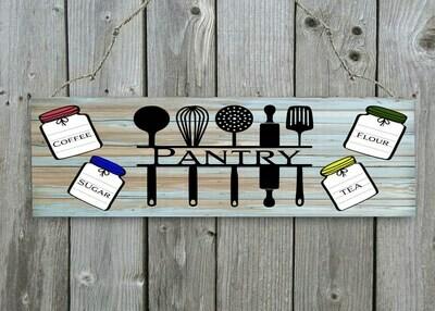 """""""Pantry  """" Door/Wall Sign"""