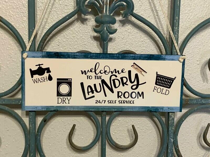 New Laundry Room Door/Wall hanger
