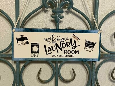 New Laundry Room Door/Wall hanger