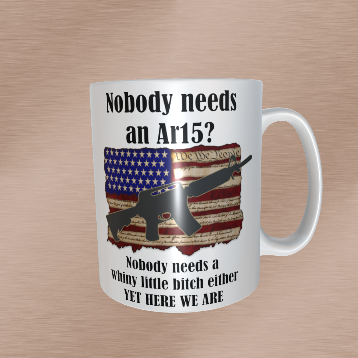 Nobody needs an AR15? 15oz Mugs