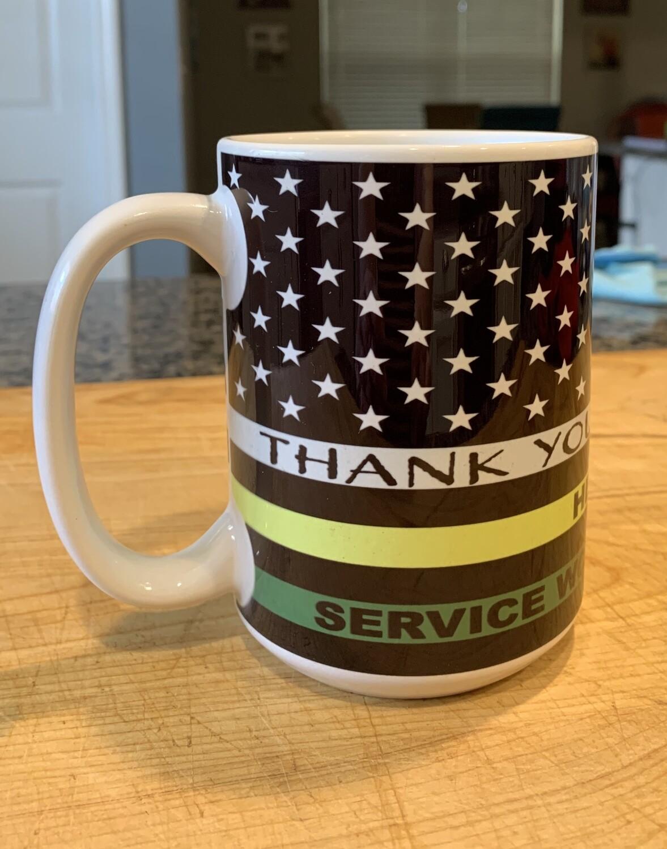 Thank You Mug for Essential Personal! 15oz. Mug