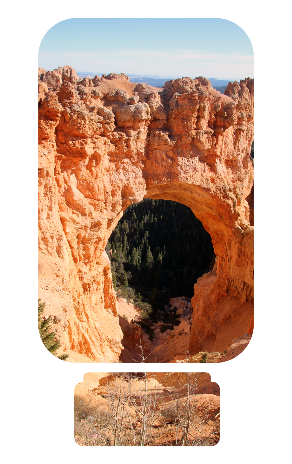 Bryce Canyon - Quarter Toss Game for Sublimation