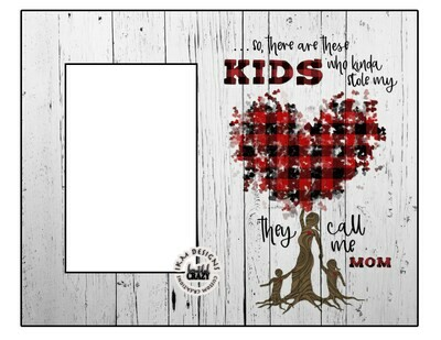 "Custom 8x10"" Picture Frame for Mom's"