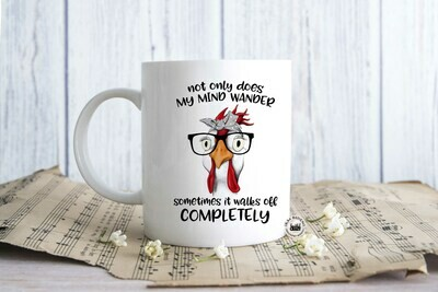 not only does MY Mind Wonder ... Coffee Mug