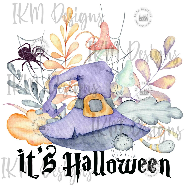 It's Halloween  Digital Downloads Sublimation PNG