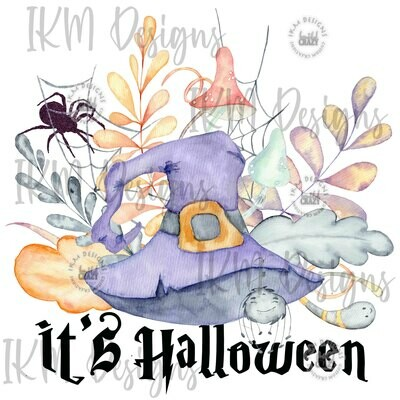 It's Halloween  Digital Downloads Sublimation PNG