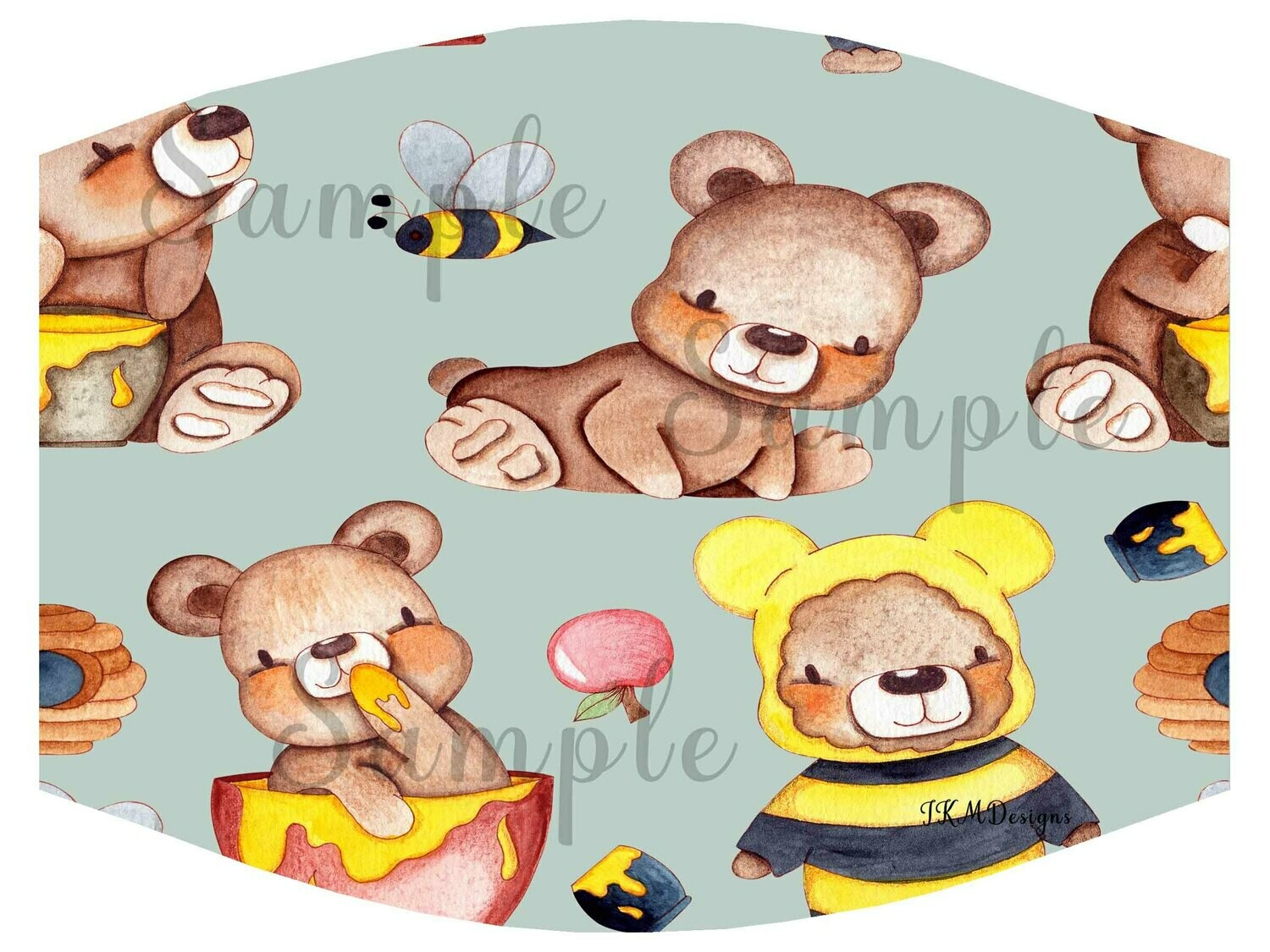 """HoneyBears"" Nonmedical Mask"