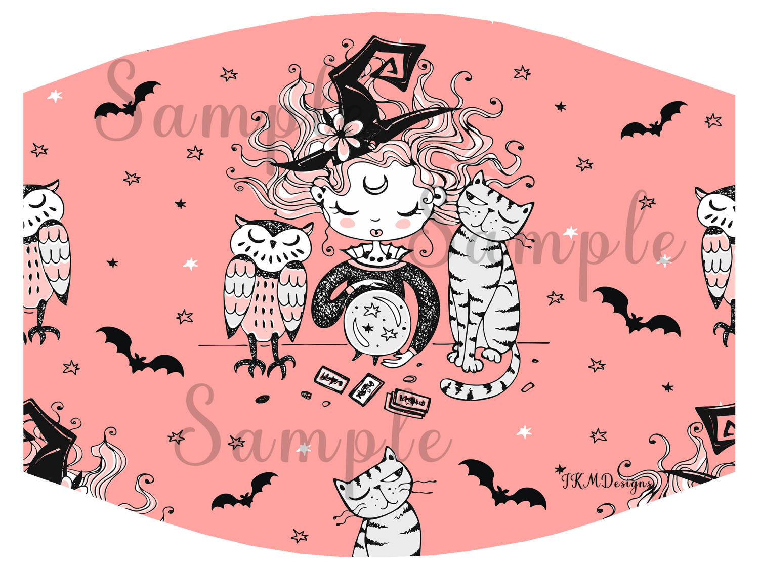 """Little Witch"" Nonmedical Mask"