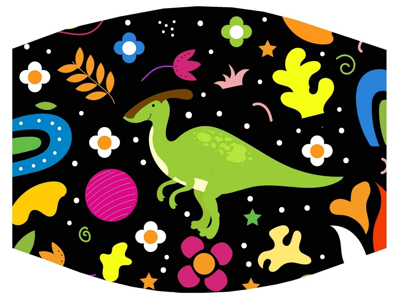 """""""Dino """" Mask/ Digital Design Sublimation"""