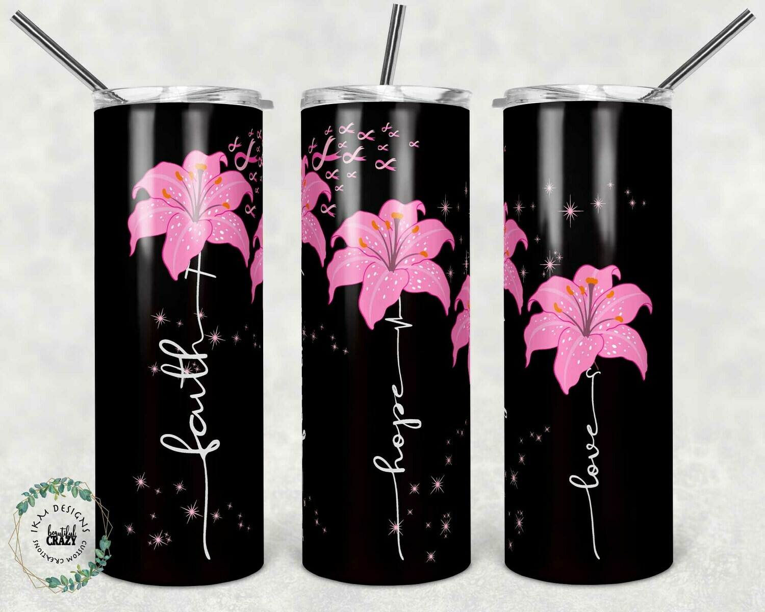 Faith-Hope-Love Tumbler