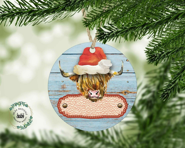 Rustic Christmas Ornament!