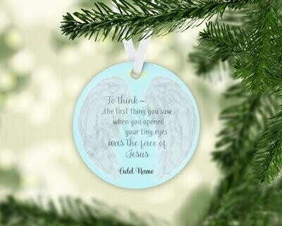 Special Memorial Ornament for lost Child