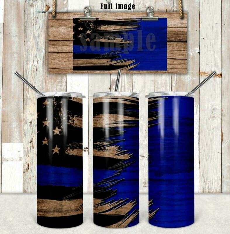 Support the Blue Tumbler