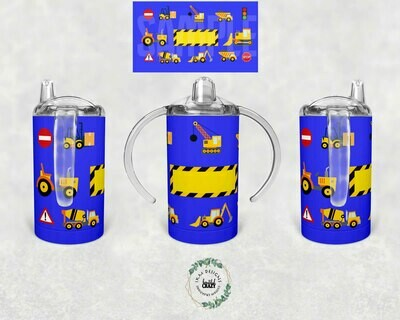 Digital Design for 12oz.Straight-sided Sippy Cups