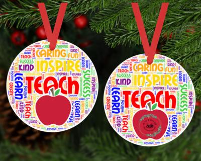 Teachers Ornament