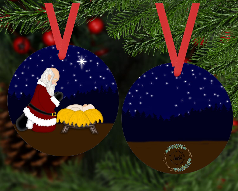 Special Santa Claus Ornament