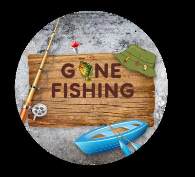 Gone Fishing Ornament