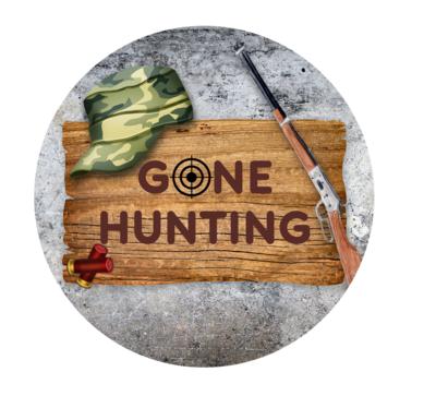 Gone Hunting Ornament