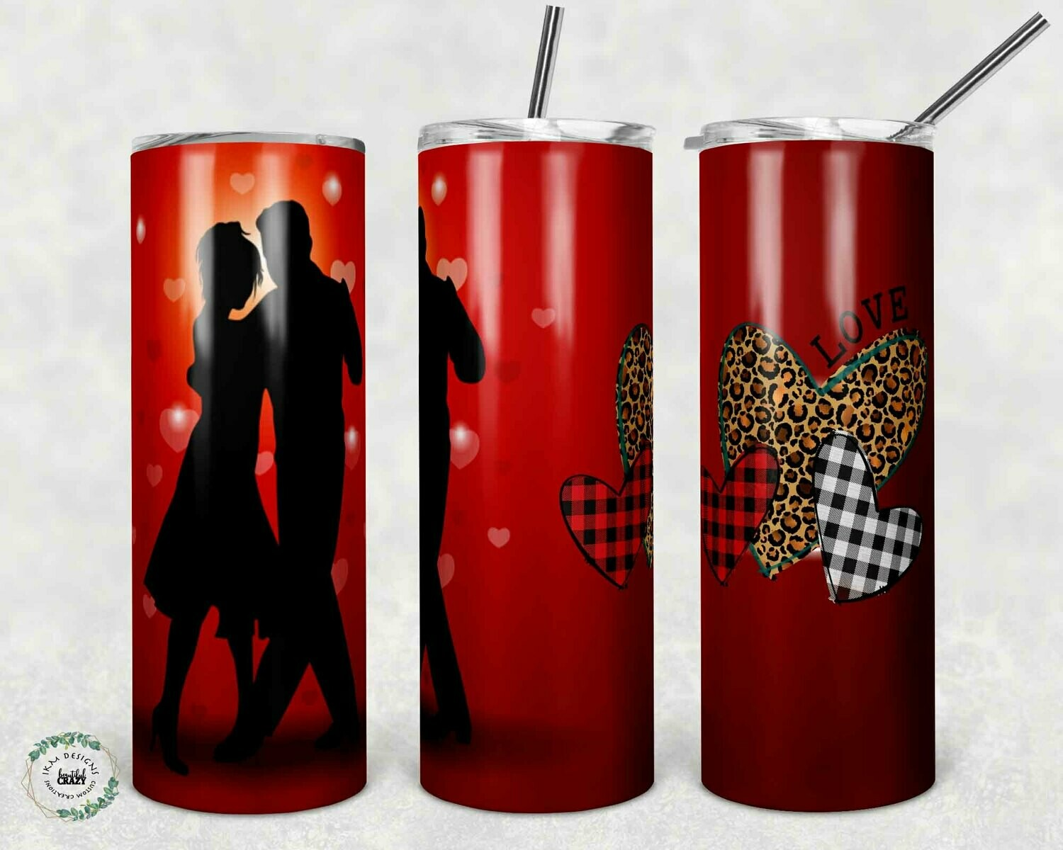 """Valentine's Day Tumblers"" Digital Download"
