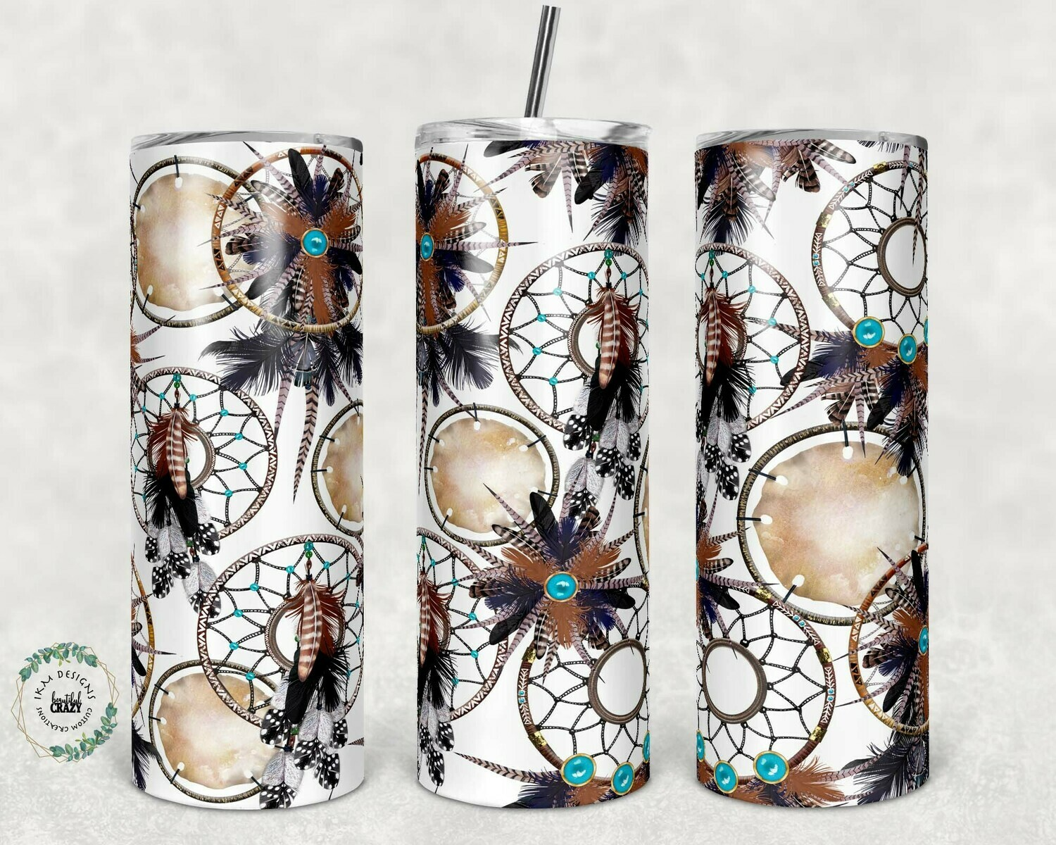 20oz Dream Catchers Tumbler